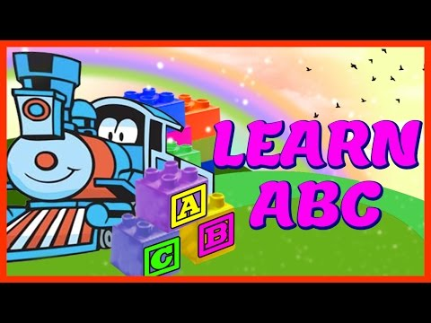 Small Alphabet Train a to z  Zee Version