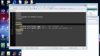 Audio in HTML5 Tutorial