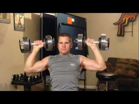 Home Gym Shoulder Workout To Build Muscle For Men Over 40 Years Old