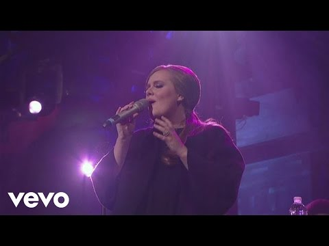 Adele - Lovesong (Live on Letterman)