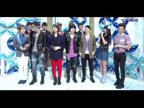 [110807] HD - Super Junior - Interview [Inkigayo Comeback Stage] -DyMVMRBE5oM