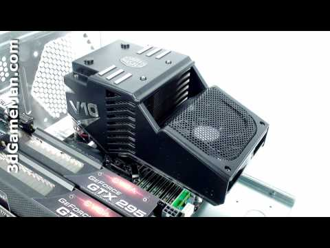 #1059 - Cooler Master V10 CPU Cooler Video Review