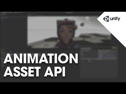 Unity 5 - Animation Asset API