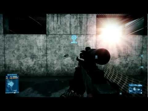 Battlefield 3 Sniper Rifle Comparison L96, M98B, M40A5 and SV98 Part 1