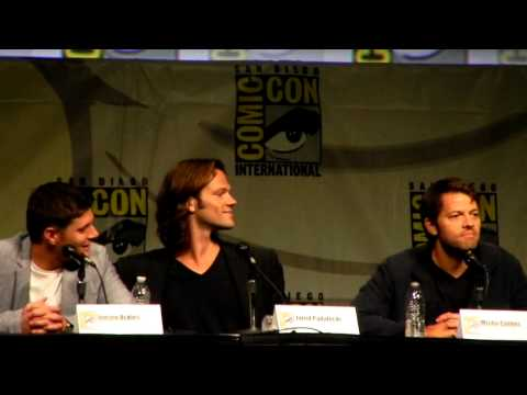 Comic Con 2012 Supernatural Panel Clip 5
