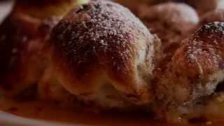 Barackos túrós galuska (guba) recept a Rónay Kúria Étteremből