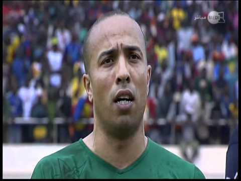 l-hymne national du Maroc vs Centre Afrique (www.almarssad.ma)