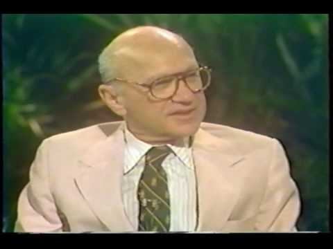 Milton Friedman on Donahue 1979 (1/5)