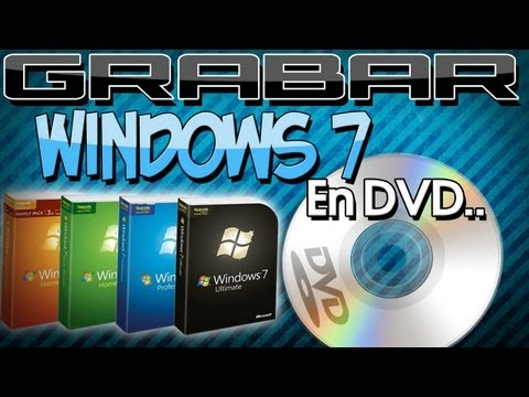 Como Grabar Windows 7 en un DVD Booteable [Bien Explicado]