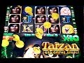 Aristocrat - Tarzan Lord of the Jungle - BIG WIN! - Slot Machine Bonus