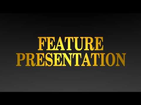 Gold Feature Presentation logo in Blender (Version #2)