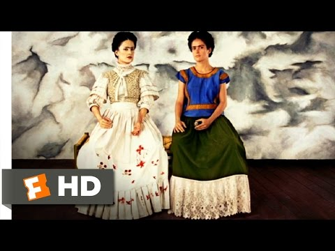 Frida (10/12) Movie CLIP - The Two Fridas and Trotsky's Assassination (2002) HD