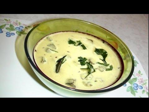 Healthy Gujarati Kadhi Recipe Video- Hot Yogurt Soup by Bhavna