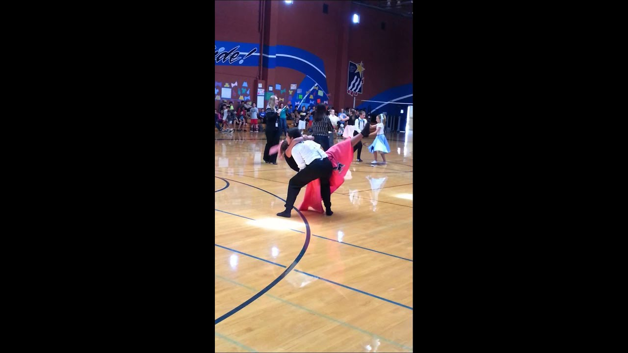 Thomas Hart Middle School Swing Dance Comp 2014