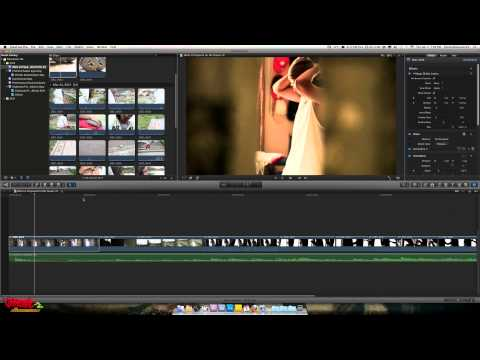 Final Cut Pro X Tutorial - Widescreen Cinema Effect