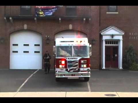 Engine 4 Responding Using Federal Q , Yelp And Wail Sirens