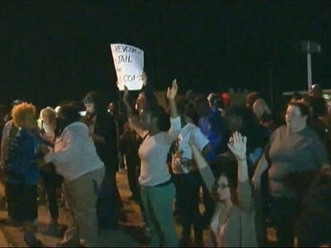 Raw: Protesters Return to Streets of (Ferguson)  9/24/14