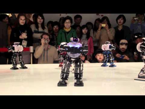 Kpop Dancing Robots