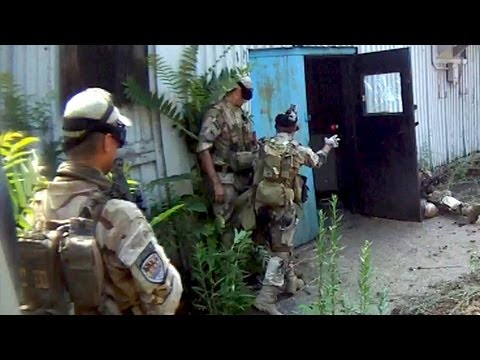 Urban Airsoft Action! Airsoft Frag Grenade Kills Room.