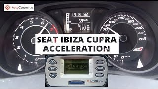 Seat Ibiza Cupra 1,4 TSI 180 PS - on wet - acceleration 0-100 km/h