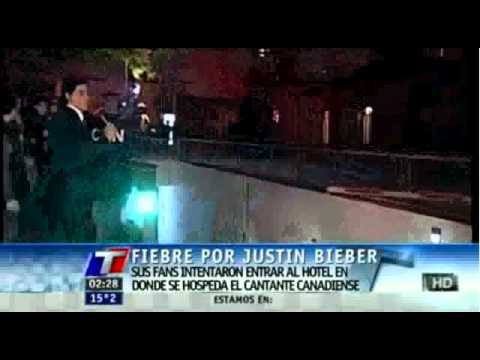 Watch! Justin Bieber's Fans Break Into His Argentina Hotel