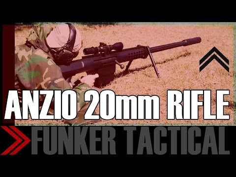 ANZIO 20MM SHOULDER FIRED RIFLE! | Down Range With Funker Tactical