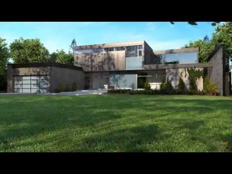 Mod lisation et animation photo r aliste 3d d une maison for Modelisation maison 3d