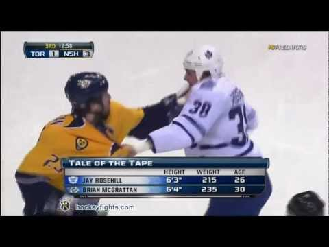Jay Rosehill vs Brian McGrattan Nov 17, 2011