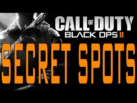 Black Ops 2 - Secret Spots on Hijacked (Call of Duty BO2 Tips and Tricks Nade Capture Spot Tip)