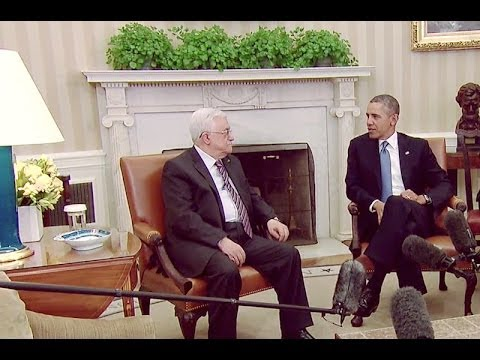 President Obama's Bilateral Meeting with (Palestinian) Authority President Mahmoud Abbas  3/17/14