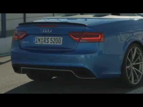 Dynamik unter freiem Himmel - das Audi RS5 Cabriolet