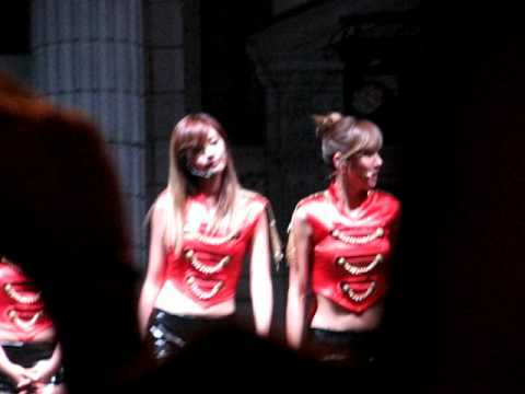 [FANCAM] After School at Sundown Fest'10 Jung-ah focused