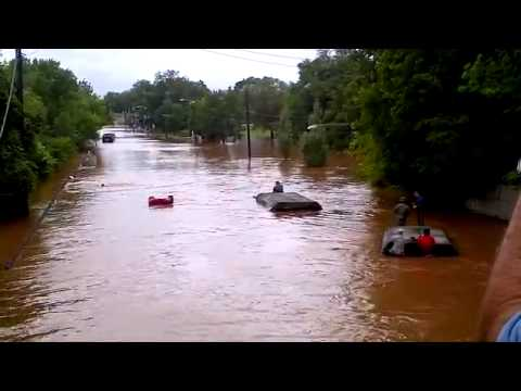 National Guard Trucks Underwater Driving Don't Make It Irene