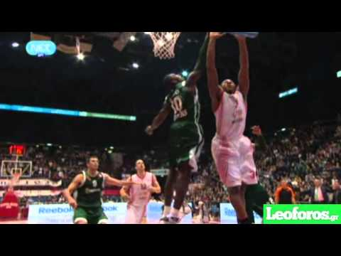 Panathinaikos Top-10 Blocks 2010-2011