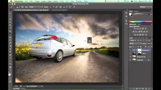 Photoshop Tutorial - Merging Two Images With Layer Masks