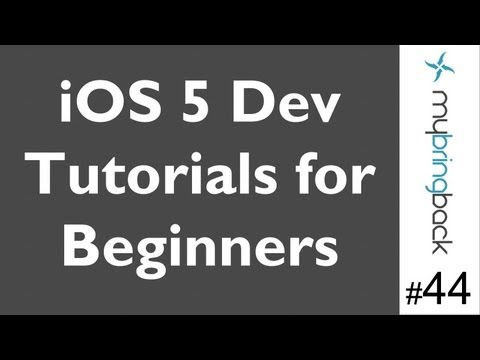 Learn Xcode 4.2 Tutorial iOS iPad iPhone 1.44 Assign Class .h/.c to View Controller