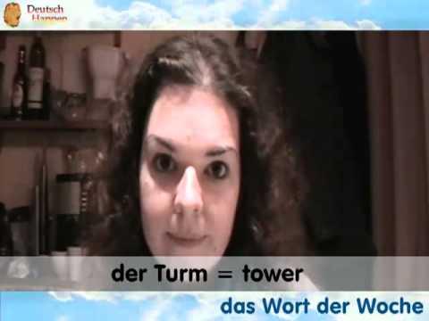 Das Wort der Woche - Fernsehturm - Learn German with Deutsch Happen