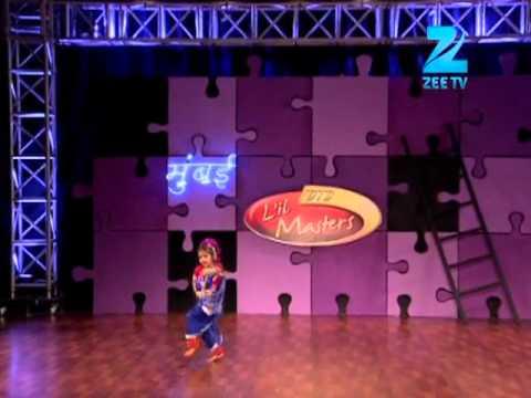 DID Little Masters Mumbai Auditions_Lakshika Performance