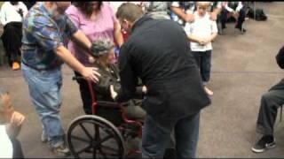2 paralyzed ladies healed