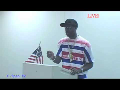 Tall Tee 4 Prez (C-Span Press Conference)
