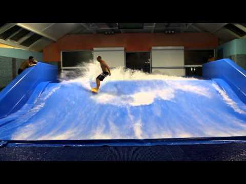 Сёрфинг на искусственной волне