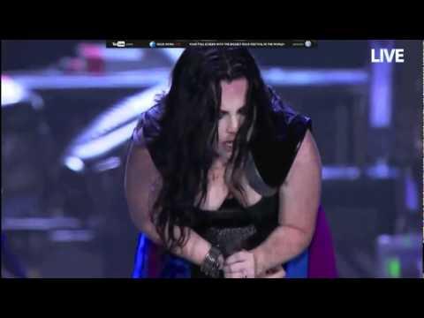 Evanescence - Sick+Lyrics at Rock in Rio 2011 -HD-