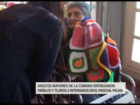El hospital Pascual Palma recibió donaciones de mantas tejidas y pañales