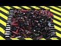 Фрагмент с конца видео EXPERIMENT Shredding 1000 BATTERIES