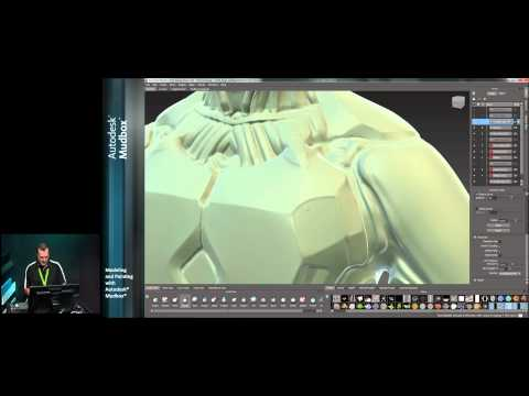 Mudbox Tutorial: Modeling and Painting with  Mudbox - Part 1