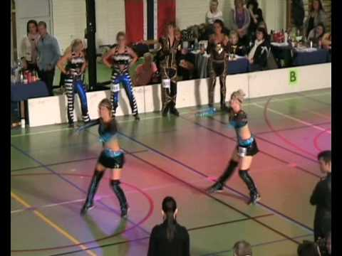 rebecca & sara. disco dance duo of sweden 2010.