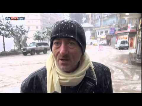فيديو : ثلوج لبنان.. مأساة تباغت اللاجئين