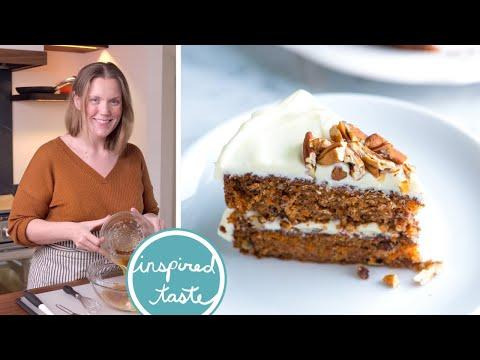 Incredibly Moist Carrot Cake Recipe - Homemade Carrot Cake