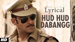Hudd Hudd Dabangg Full Song with Lyrics | Dabangg