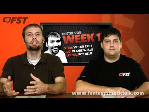 2011 Fantasy Football Week 13 - Start -em - Sit -em and Advice